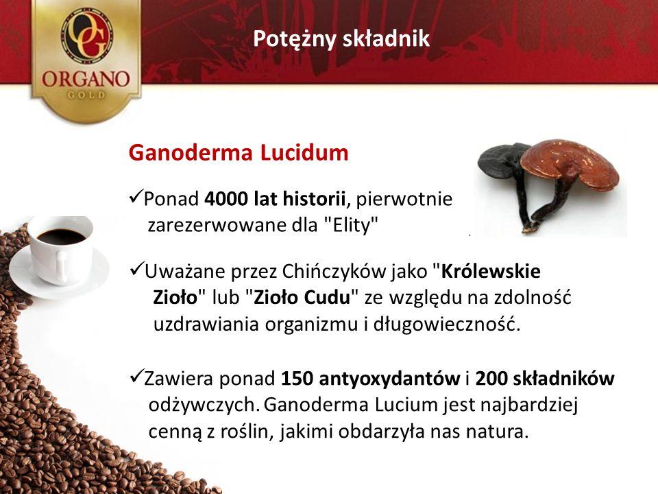 Potężny składnik Ganoderma Lucidum