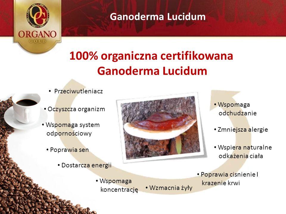 100% organiczna certifikowana