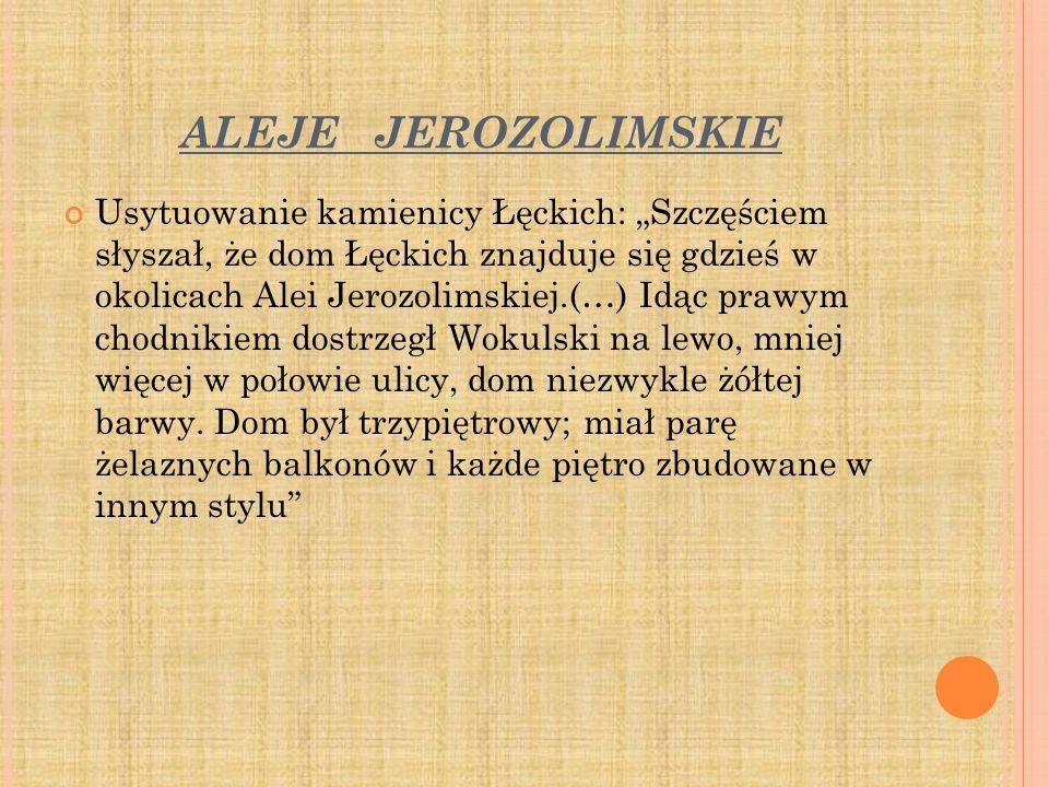 ALEJE JEROZOLIMSKIE