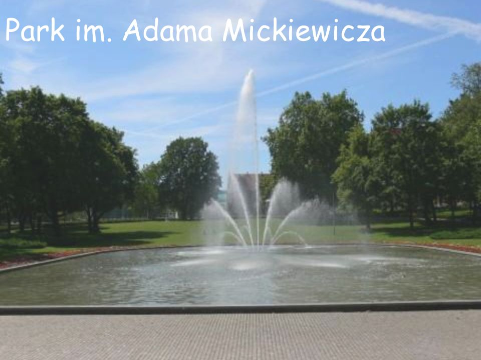 Park im. Adama Mickiewicza
