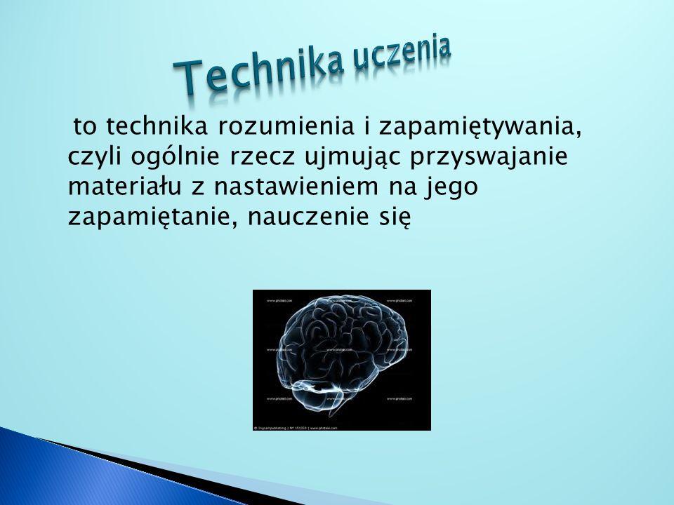 Technika uczenia