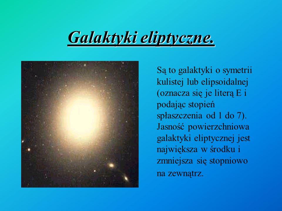 Galaktyki eliptyczne.