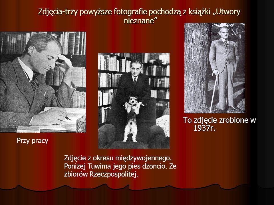"""Zdjęcia-trzy powyższe fotografie pochodzą z książki """"Utwory nieznane"""