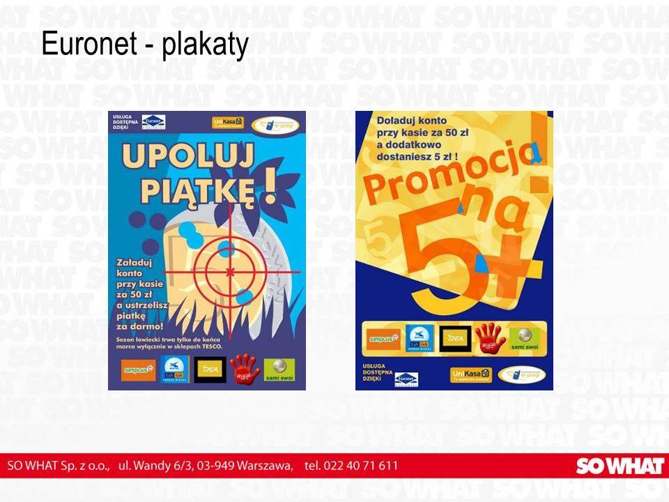 Euronet - plakaty