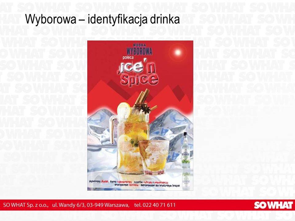 Wyborowa – identyfikacja drinka