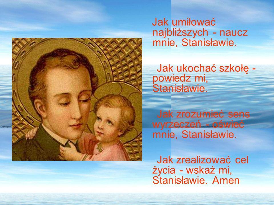 Jak ukochać szkołę - powiedz mi, Stanisławie.