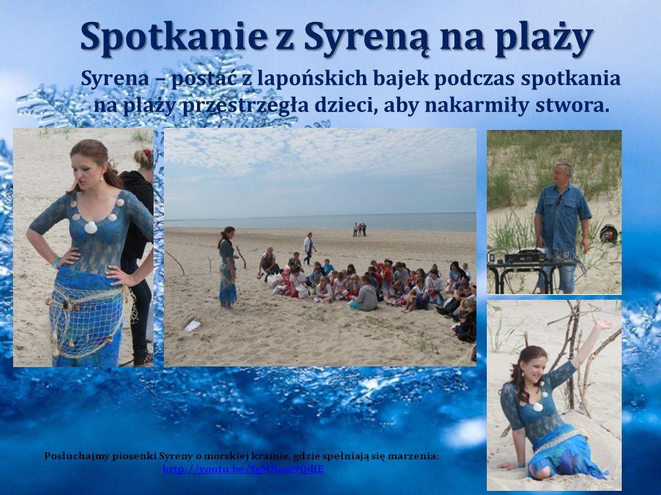 Spotkanie z Syreną na plaży