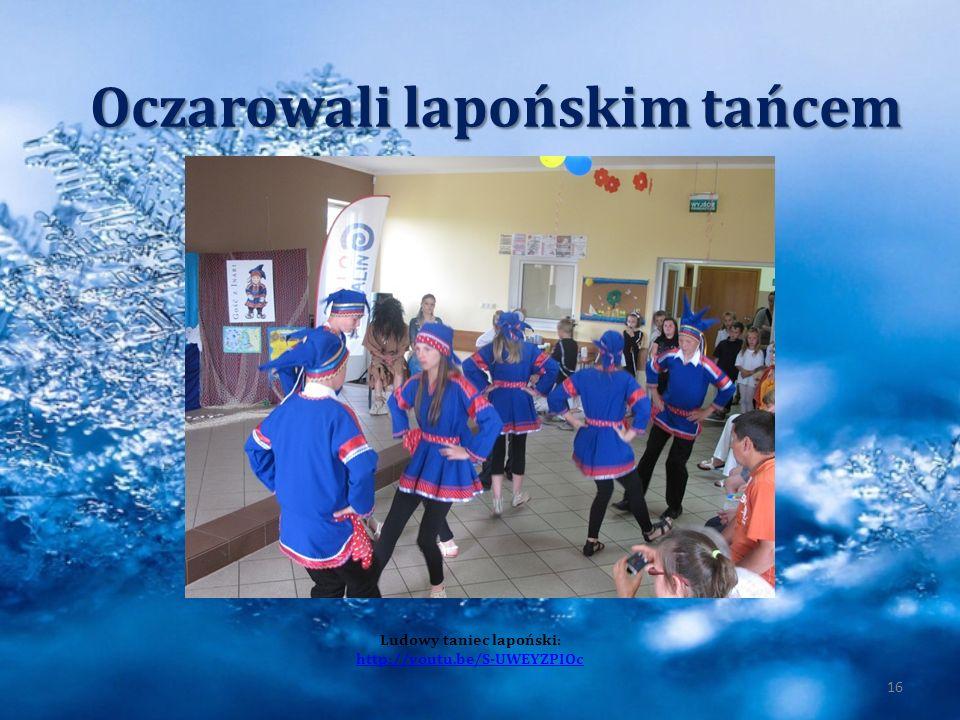 Oczarowali lapońskim tańcem Ludowy taniec lapoński: