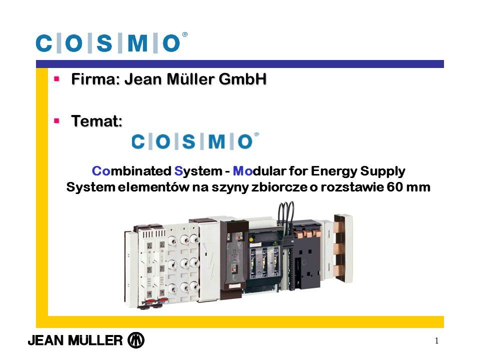 Firma: Jean Müller GmbH Temat: