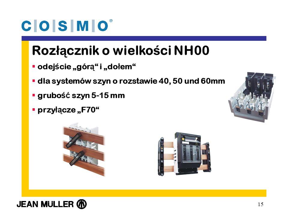 Rozłącznik o wielkości NH00