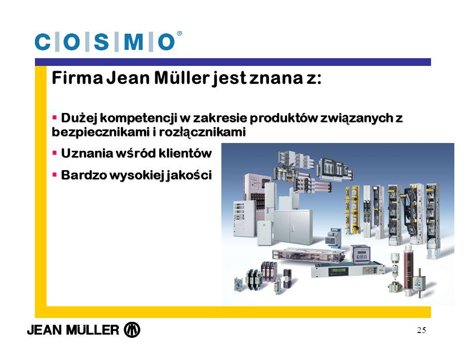 Firma Jean Müller jest znana z: