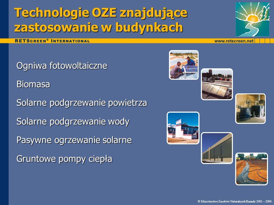 Technologie OZE znajdujące zastosowanie w budynkach