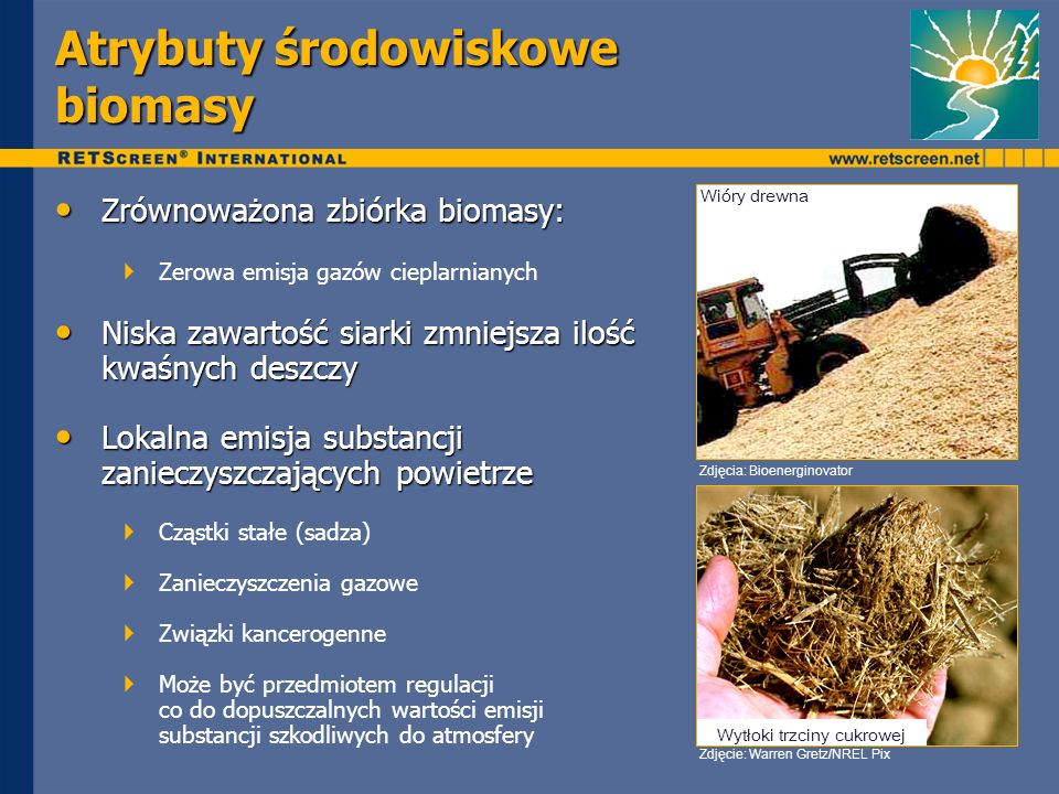 Atrybuty środowiskowe biomasy