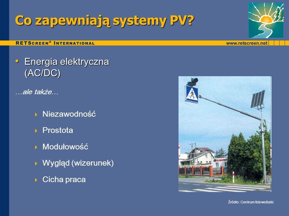 Co zapewniają systemy PV