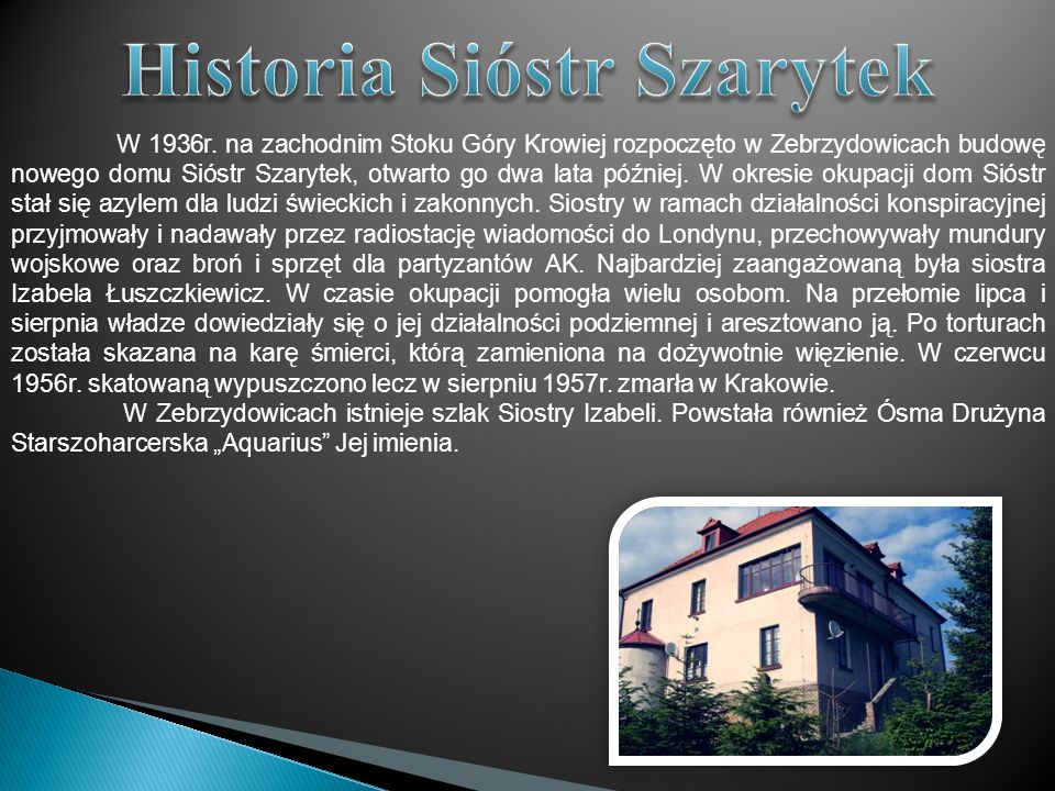 Historia Sióstr Szarytek
