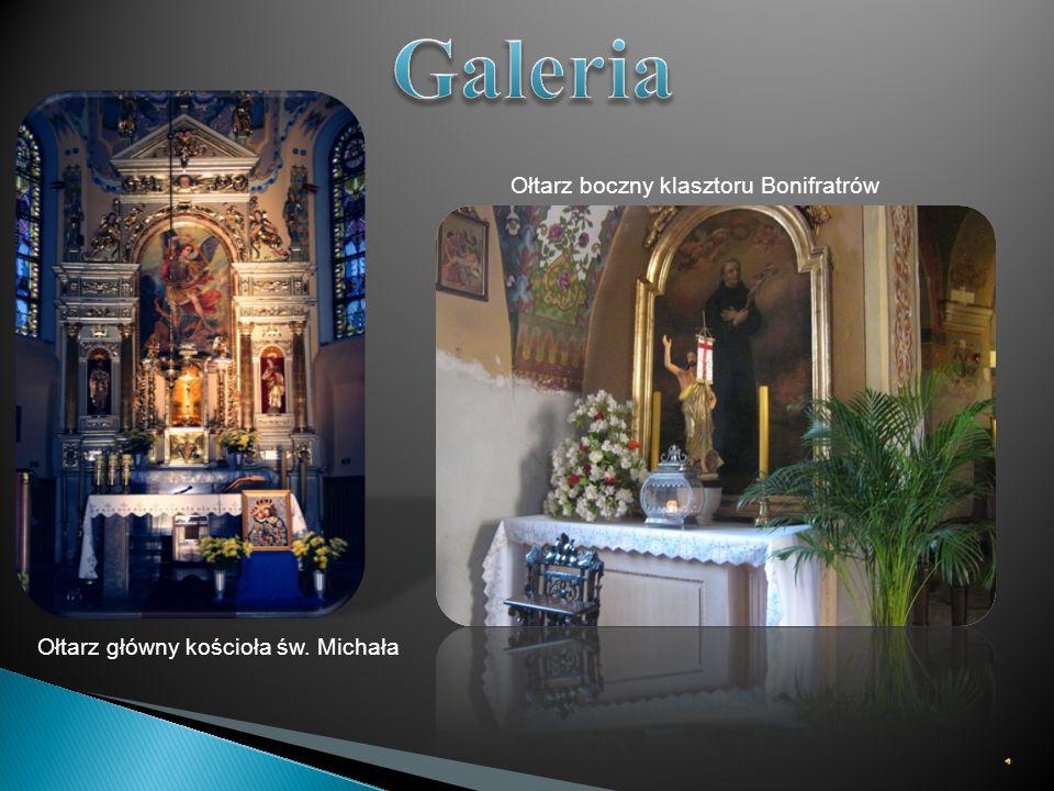Galeria Ołtarz boczny klasztoru Bonifratrów