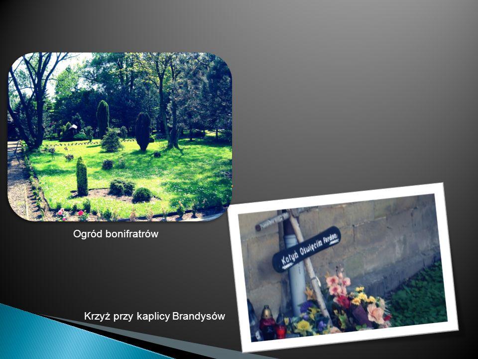 Krzyż przy kaplicy Brandysów