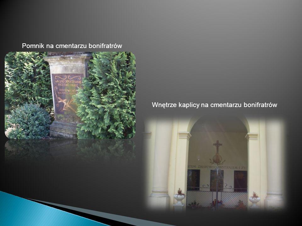 Pomnik na cmentarzu bonifratrów