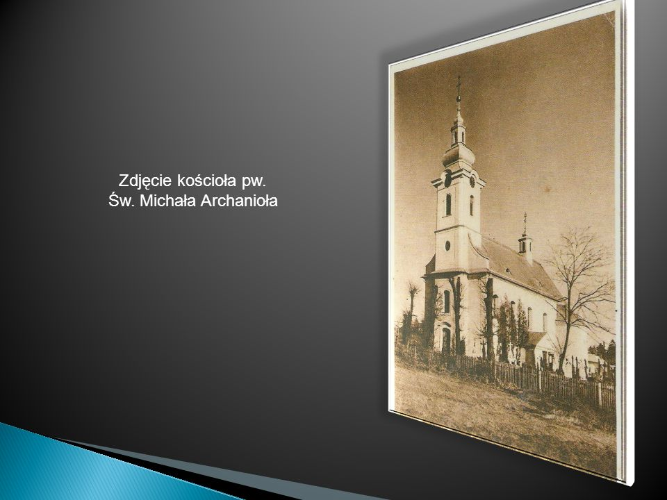 Zdjęcie kościoła pw. Św. Michała Archanioła