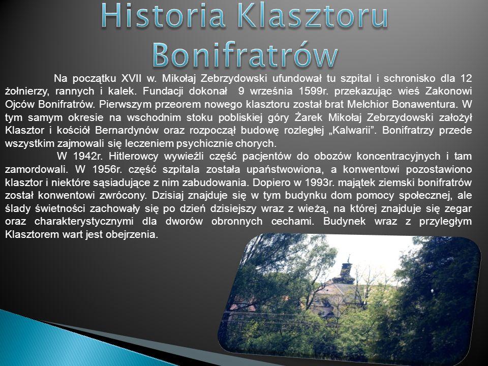 Historia Klasztoru Bonifratrów