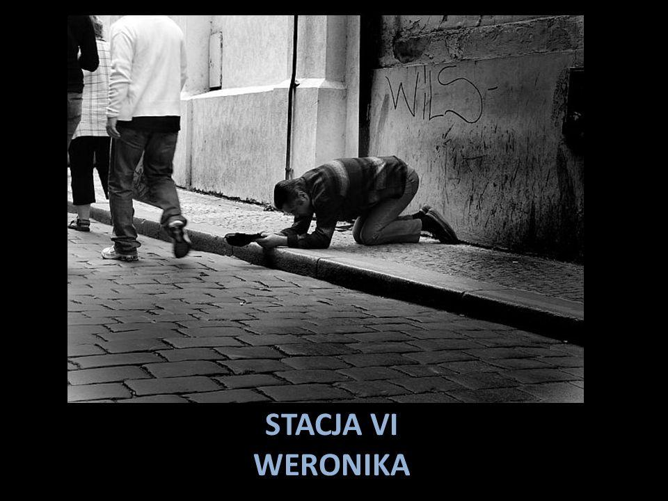 STACJA VI WERONIKA
