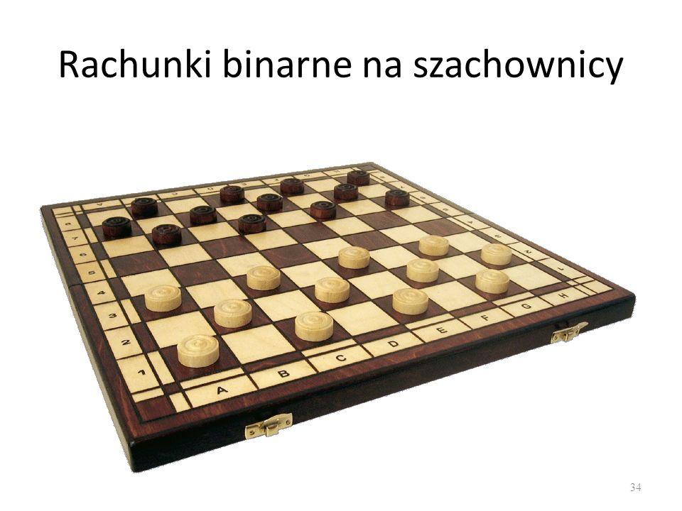 Rachunki binarne na szachownicy