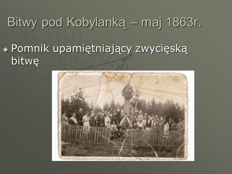 Bitwy pod Kobylanką – maj 1863r.