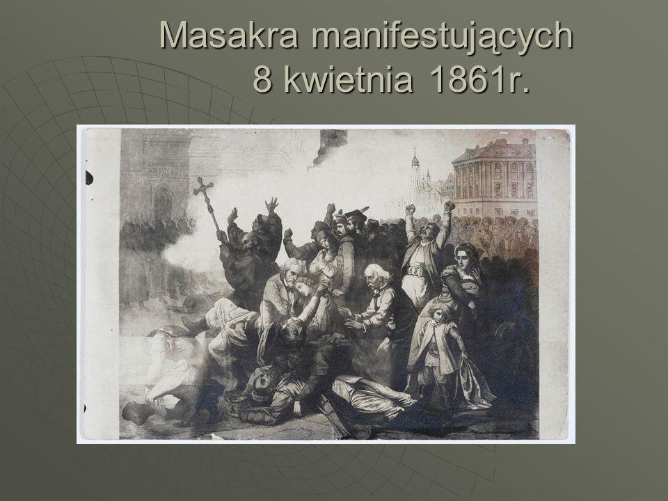 Masakra manifestujących 8 kwietnia 1861r.