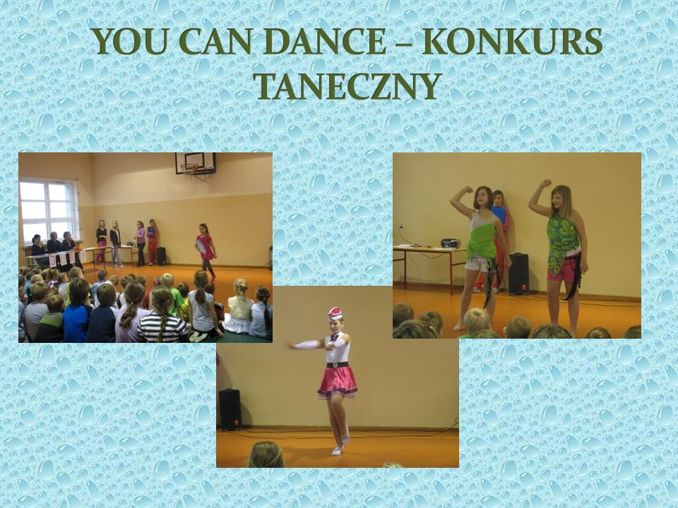 YOU CAN DANCE – KONKURS TANECZNY