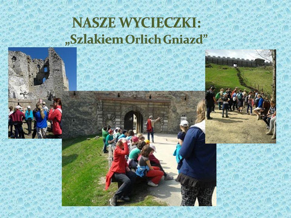 """NASZE WYCIECZKI: """"Szlakiem Orlich Gniazd"""