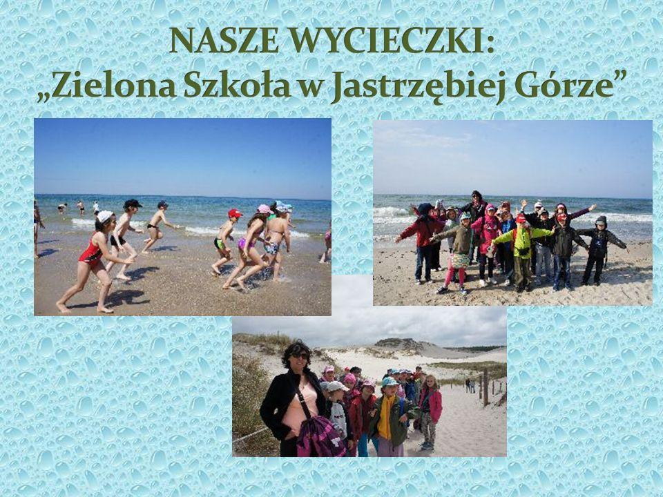 """NASZE WYCIECZKI: """"Zielona Szkoła w Jastrzębiej Górze"""