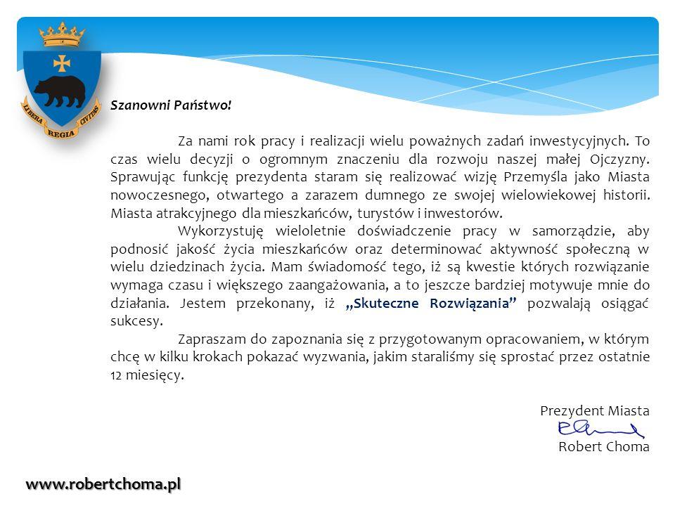 www.robertchoma.pl Szanowni Państwo!