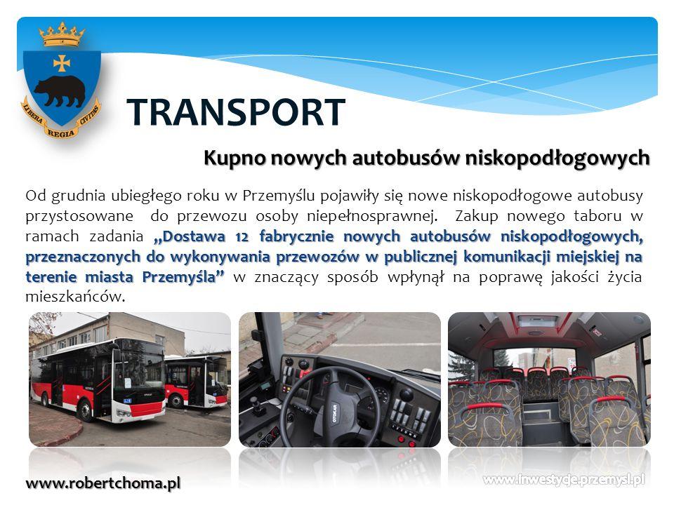TRANSPORT Kupno nowych autobusów niskopodłogowych