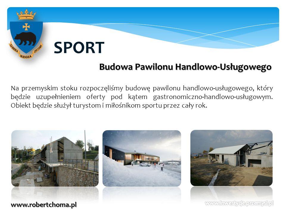 SPORT Budowa Pawilonu Handlowo-Usługowego