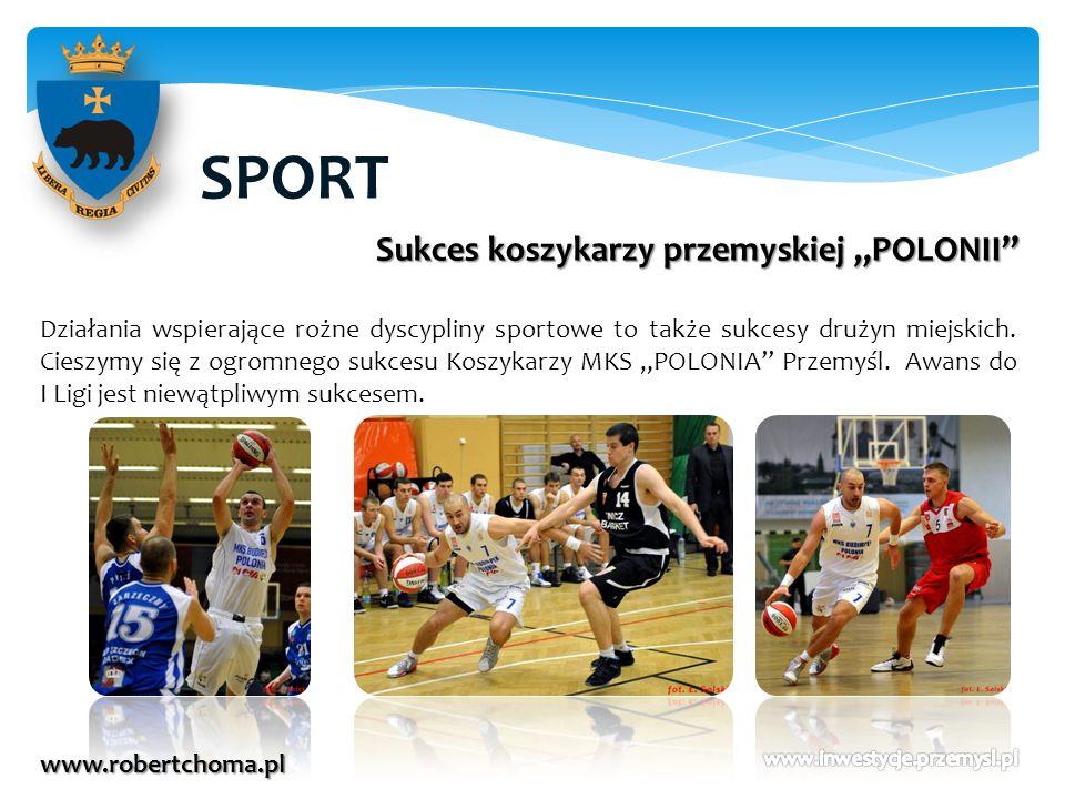 """SPORT Sukces koszykarzy przemyskiej """"POLONII"""