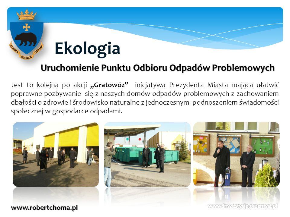 Ekologia Uruchomienie Punktu Odbioru Odpadów Problemowych