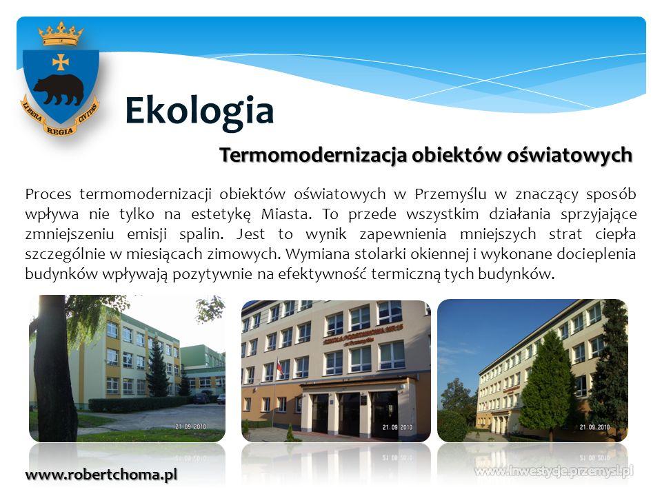 Ekologia Termomodernizacja obiektów oświatowych