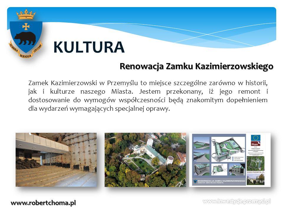 KULTURA Renowacja Zamku Kazimierzowskiego