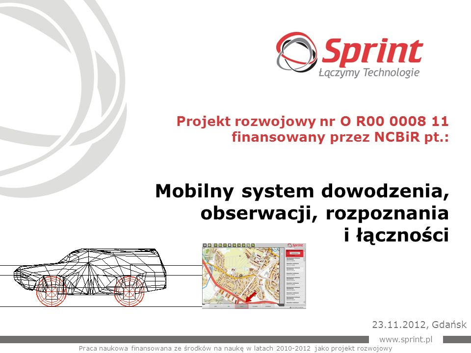 Mobilny system dowodzenia, obserwacji, rozpoznania i łączności