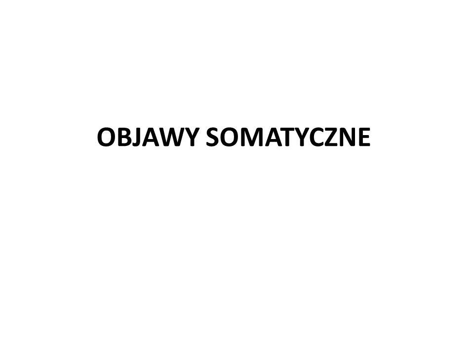 OBJAWY SOMATYCZNE
