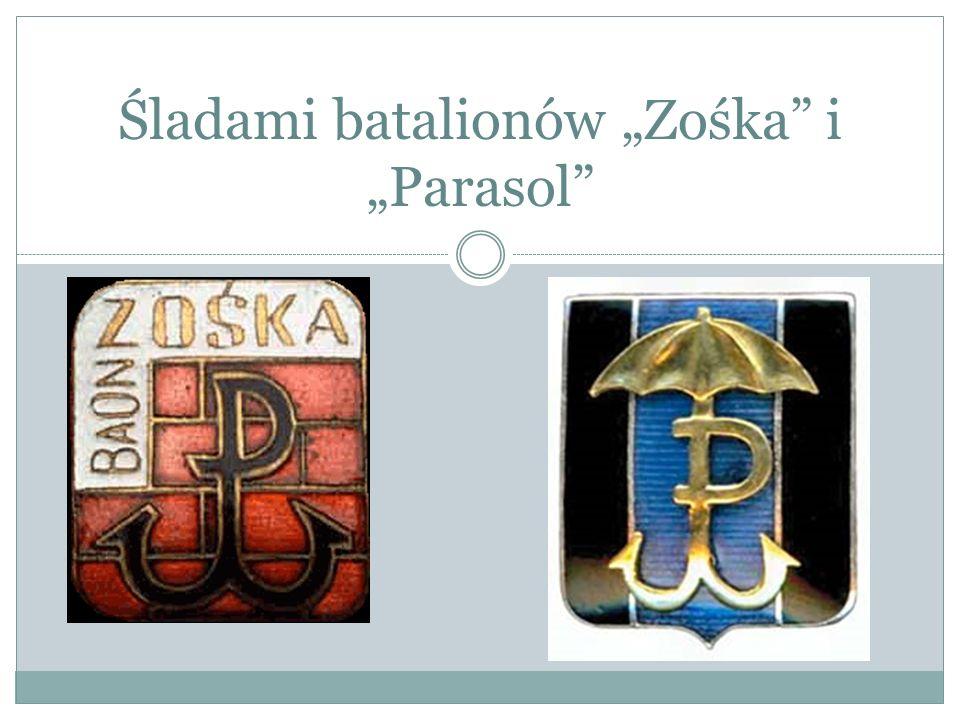 """Śladami batalionów """"Zośka i """"Parasol"""