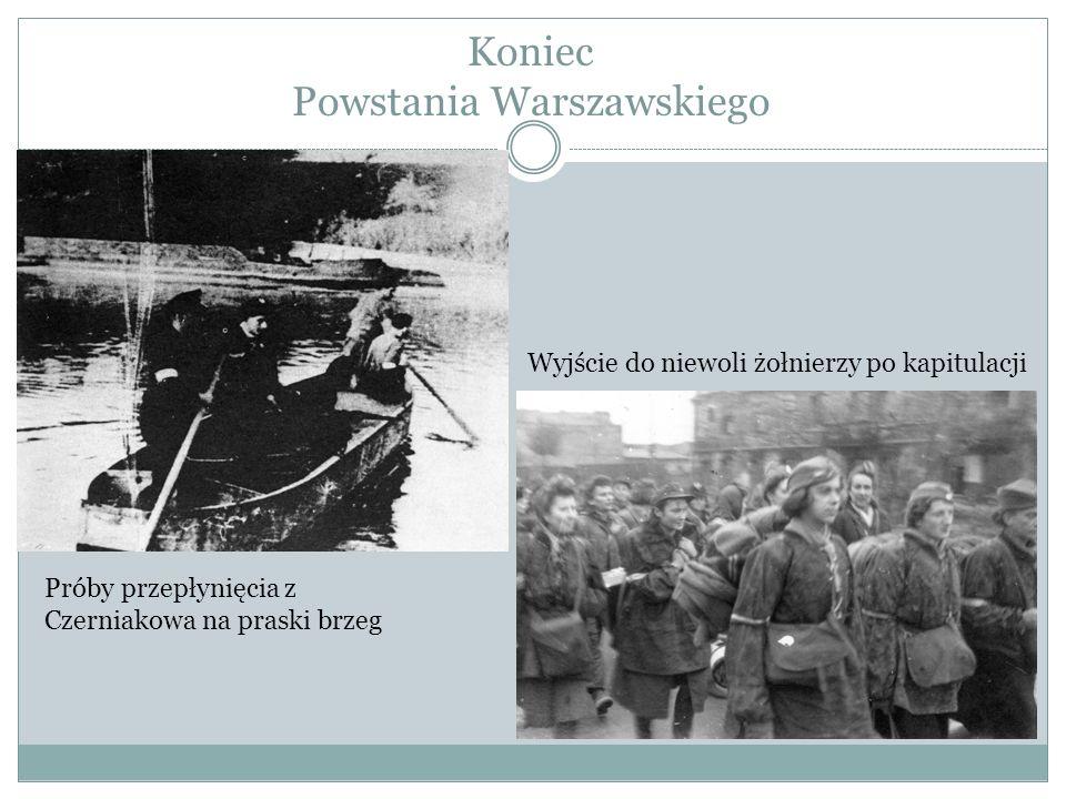 Koniec Powstania Warszawskiego
