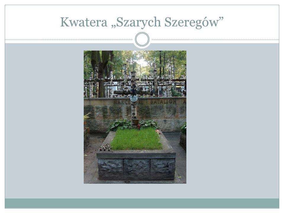 """Kwatera """"Szarych Szeregów"""