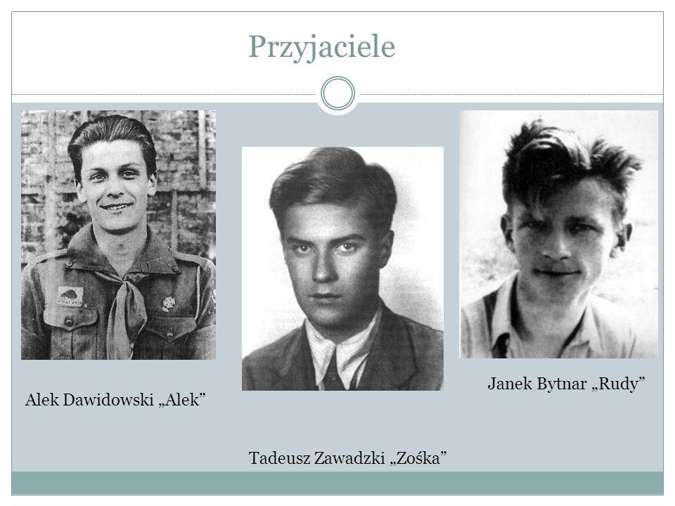 """Przyjaciele Janek Bytnar """"Rudy Alek Dawidowski """"Alek"""