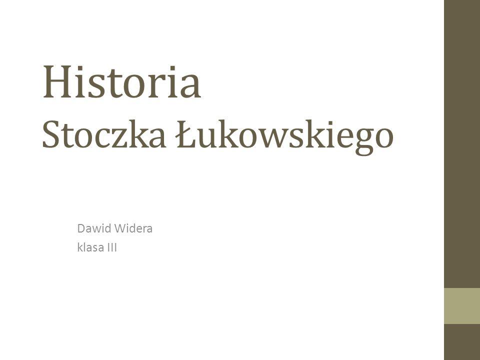 Historia Stoczka Łukowskiego