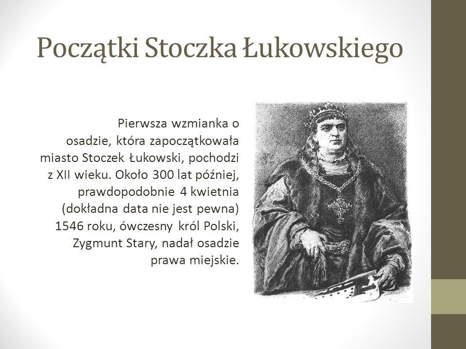 Początki Stoczka Łukowskiego
