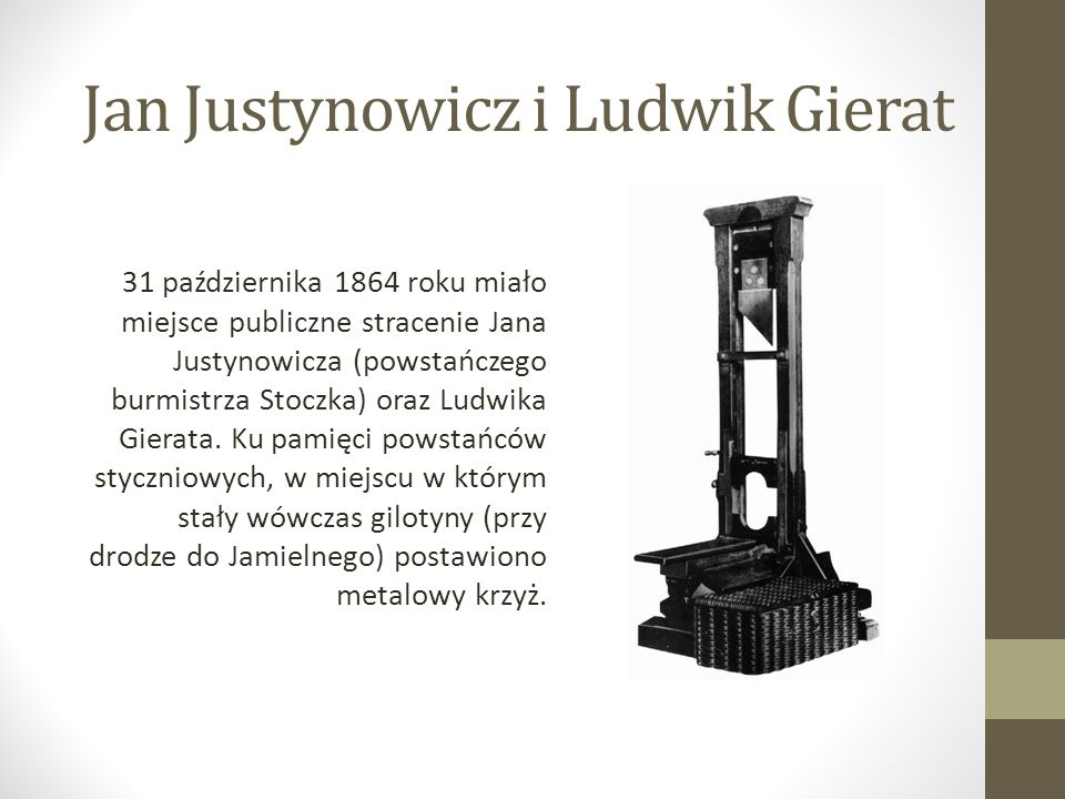 Jan Justynowicz i Ludwik Gierat