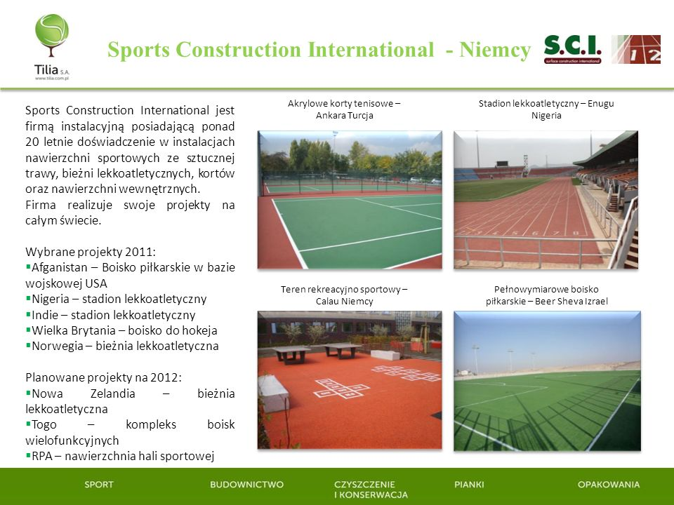 Sports Construction International - Niemcy