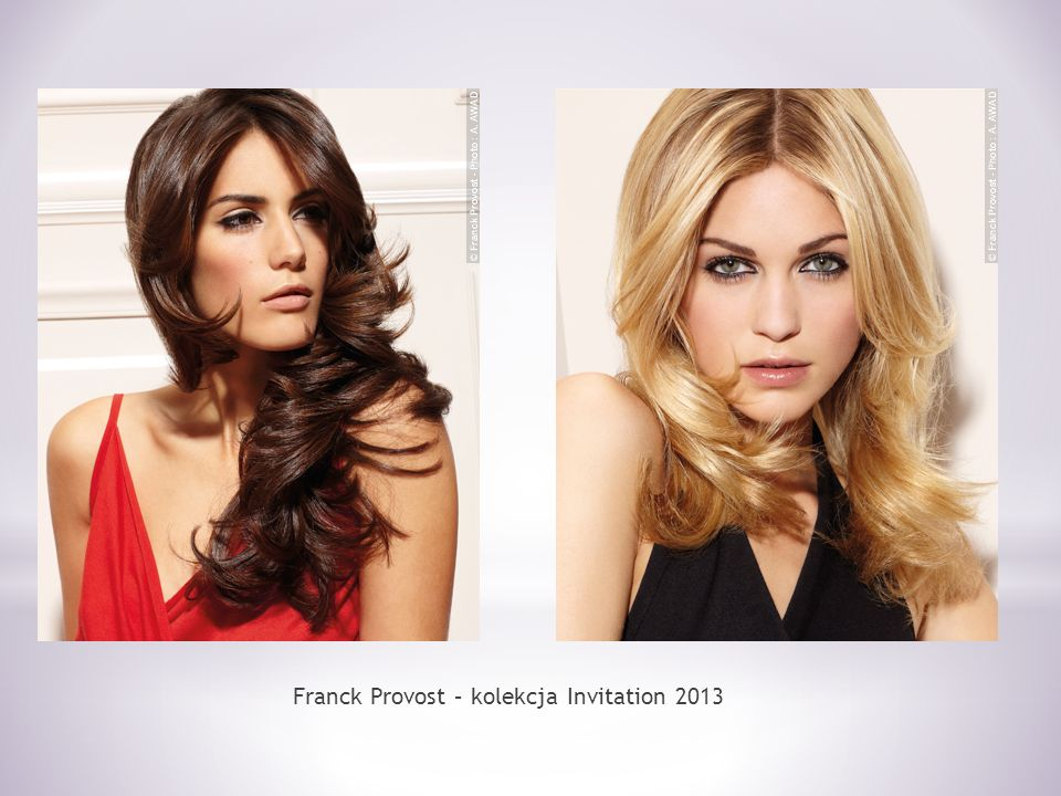 Franck Provost – kolekcja Invitation 2013