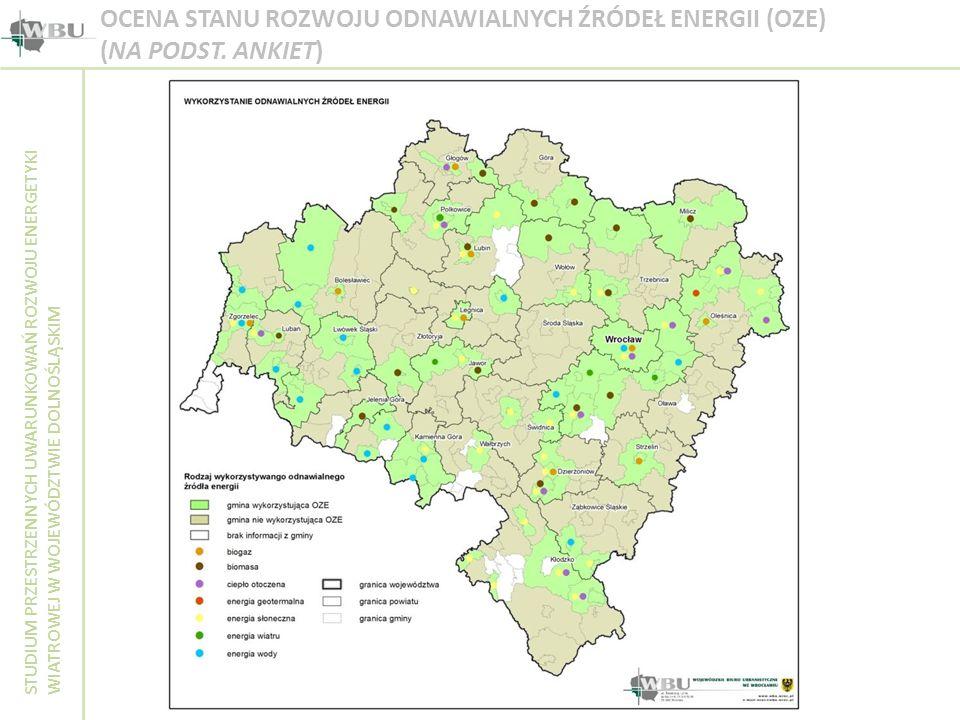 OCENA STANU ROZWOJU ODNAWIALNYCH ŹRÓDEŁ ENERGII (OZE) (NA PODST